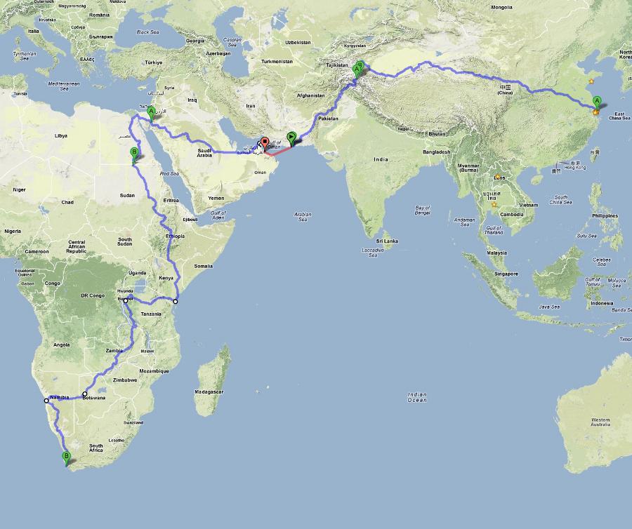 Más de 25.000 km de la ruta más alucinante