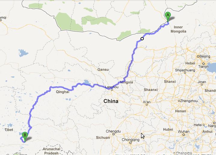 Erlian-Lhasa